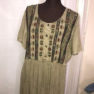 Women's Dress Boho Size XL